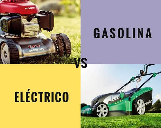 Cortacésped de gasolina o eléctrico