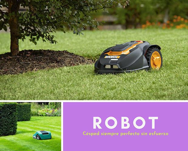 Robot cortacésped