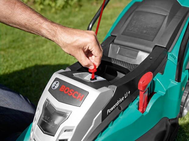 Motor del cortacésped Bosch Rotak 43 Li
