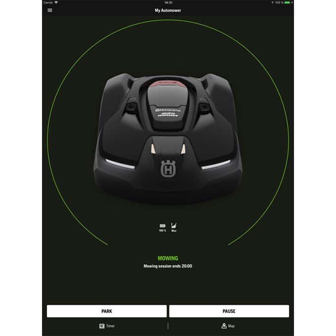 Aplicación móvil Husqvarna Automower