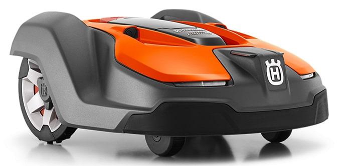 Automower 450X en rojo