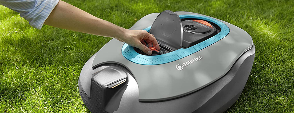Robot cortacésped Gardena Smart City 500
